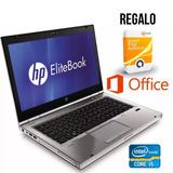 Laptop Hp Elitebook 8470p Core-i5 Dvd-rw Office 500gb 4gb