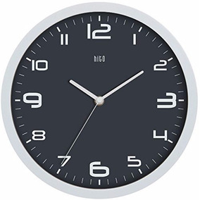 Hito Moderno Colorido Silencioso No-ticking Wall Clock-10 Pu