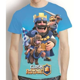 Camiseta Clash Royale