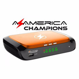 Receptor Satelital Azamerica Champions Fta H265 4k