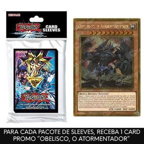 Yu-gi-oh! - Dark Side Of Dimensions Card Sleeves + Obelisco