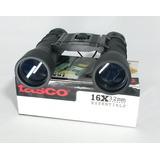 Binocular 16x32 Tasco Compacto Lente Multicapa Con Estuche