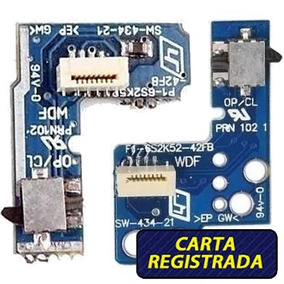 Placa Reset Ps2 Slim 7000x 900xx Power Botão Liga Desliga