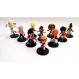Dragon Ball Z Colección X 10 Figuras Base Negra