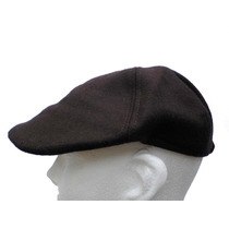 Fina Boina De Lana Corte Ajustado Caballero Gorra Sombrero