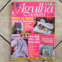 Revista Agulha De Ouro 46 Panos De Prato Macramé Ponto Cruz