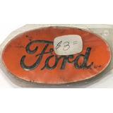 Emblema Sello Ford Antiguo