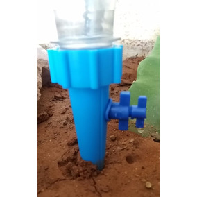 Irrigador Cone Para Garrafa Pet - Kit Com 04 Unidades