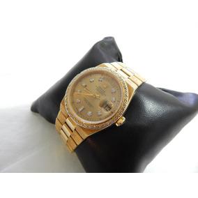 Rolex Presidente Oysterquartz Con Diamantes 100% Original!!!