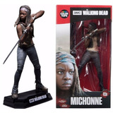 The Walking Dead Michonne Figura De 7 Pulgadas Mc Farlane