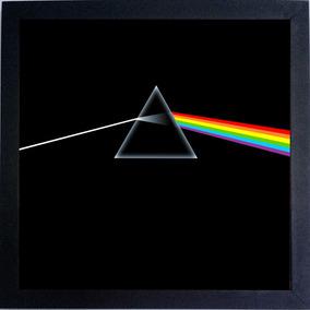 Lp Pink Floyd The Dark Side Of The Moon Quadro Capa Do Disco