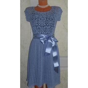 Vestidos de ganchillo para mujer