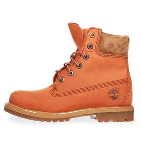 Botas Timberland 6 In Premium - 0a18nud49 - Naranja - Mujer