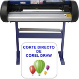 Plotter De Corte+carrometal+corel Directo+5añogarant Moritzu
