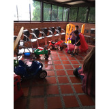 Carritos Niños,mini Parque,est.gasolina,mesas Pintar,etc