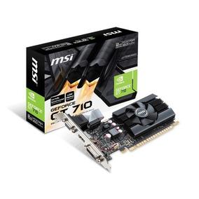 Msi Geforce Gt710 2gb Ddr3 Gt 710 Low Profile Hdmi Salta