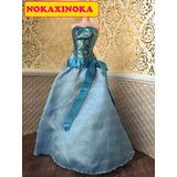 Vestido Original Tiana Para Boneca Barbie Ou Princesa Disney