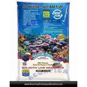 Aragonita Viva Natures Ocean 9kg Peces Acuarios