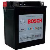 Bateria De Moto Bosch Hondacb 300r Ano 2010 Até 2013