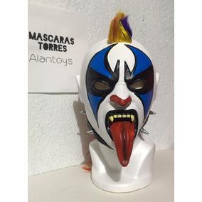 Psycho Clown Máscara Semi Pro Modeló Original Envío Gratis