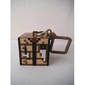 Llavero Cubo Minecraft Mojang