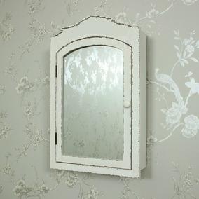 Botiquin Espejo Gabinete De Madera Para Baño Repisa Vintage