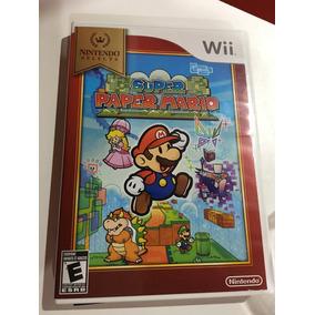 Jogo Nintendo Wi Super Paper Mario Envio Carta Registrada