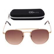 Oculos Ogrife Solar Feminino Og 1284-c Proteção Uv Original