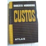 Livro Custos 3ª Ed Umberto Mandarino
