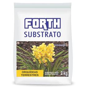 Substrato Orquídeas Terrestres Forth 2 Kg