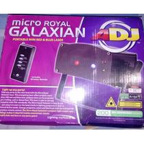 Laser Mini Galaxian American Dj 200 Rayos Azul Y Rojo