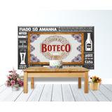 Painel Lona Pvc Festa Tema Bar Boteco 300x170 Cm Decoracao