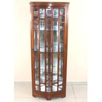 Cristaleira De Canto Vidros Bisotados Marchetada R.decora