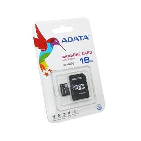 Memoria Micro Sdhc Adata 16gb Con Adaptador A Sd