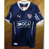 Camiseta Independiente Puma Azul 2015. Nueva Y Original