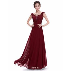 Vestido Longo Ever Pretty Import P Entrega=m=98-106 Cm Busto