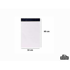 Saco Plástico Tipo Correio Sedex 32 X 40 ( 100 Unidades)