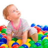 Set 100 Pelotas Plasticas Colores Juegos Niños / N Ofertas