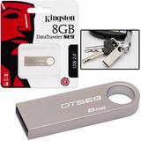 Pen Drive 8gb Kingston Datatraveler Se9 Kit 10 Unidades