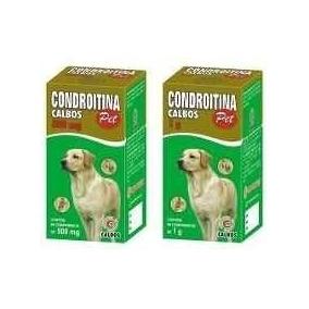 Condroitina Pet Calbos 1g 60 Comprimidos