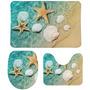 Beach water seaside scallop starfish