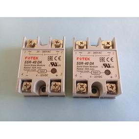 1 Modulo Relay Estado Solido 40 Amps. Fotek Ssr-40da.