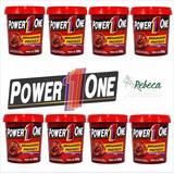 8 Unidades Pasta De Amendoim Power 1 One + Brinde (sabores)