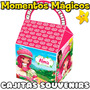 10 Cajitas Feliz Souvenirs Frutillita Bolsita Golosinera