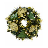 Corona Navidad 30 Cm Decorada #670
