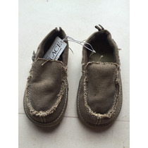 Zapatos De Lona Talla 15 Mexicano 8 Americano
