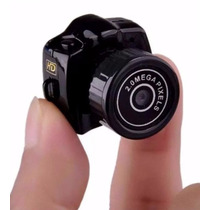 Camera Espia 8gb Micro Mini Dv Fimadora Hd 720p Menor Mundo