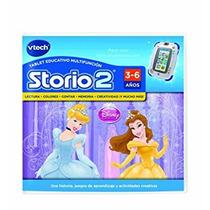 Juguete Vtech Storio 2 Princess - Juego En Espa