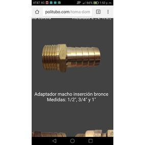 Conector Macho De Inserción Inserción 1 A 1 ,bronce