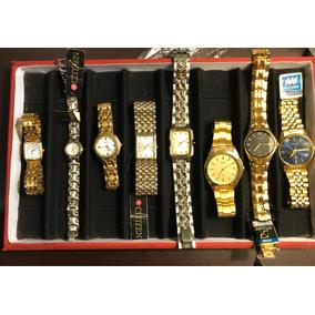 Relojes Citizen Original (dama Y Caballero)